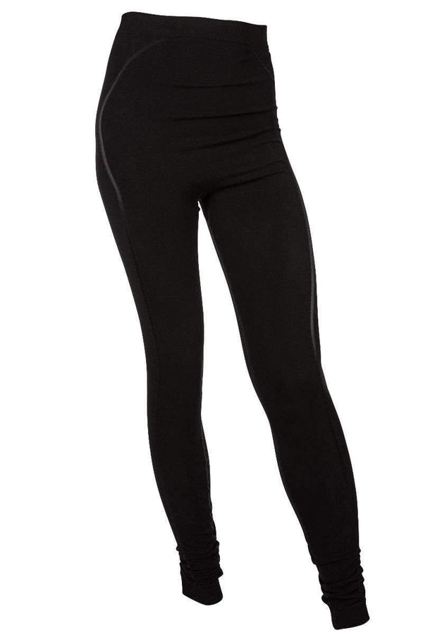 RUN & RELAX // BAMBOO PREGNANCY LEGGINGS - BEAUTIFUL BLACK