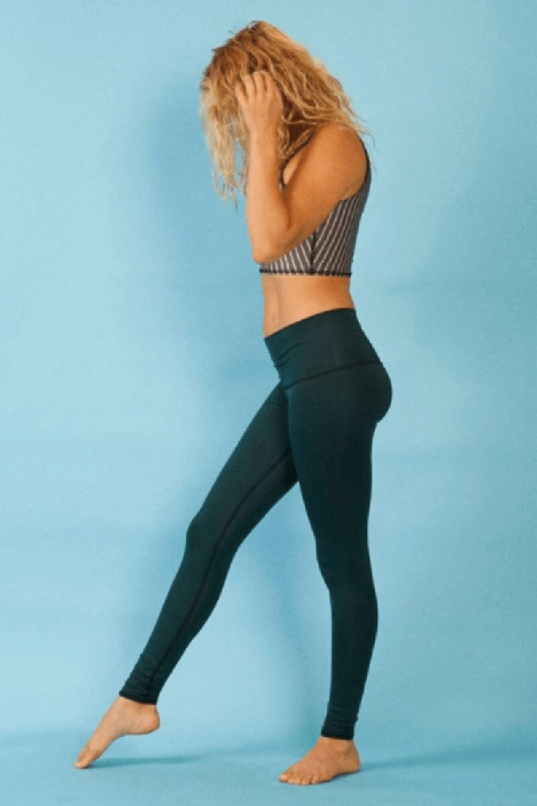 Sea Yogi // Hunter leggins de Teeki para yoga y pilates - Verde