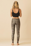 Sea Yogi - Teeki Seven Crowns Leggings for yoga and pilates - Back