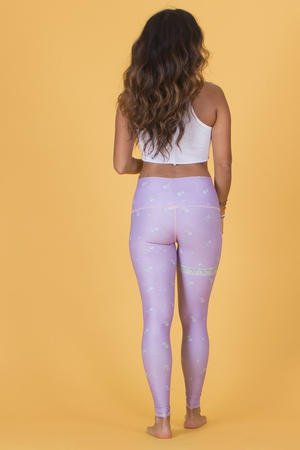 SEA YOGI // Marry Me Hot Pant in Purple by Teeki, Online Yoga Shop, back