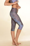 TEEKI Goddess Capri de Mermaid Fairyqueen en Teal, Sea Yogi Palma, right