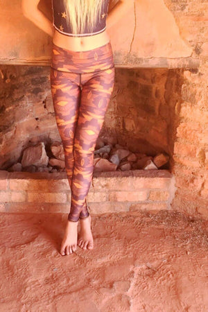 SEA YOGI Southern Cross Black Hot Pant by Teeki, Yoga Shop in Palma de Mallorca, front
