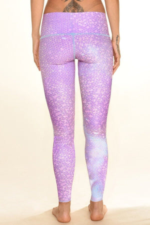 SEA YOGI // Mermaid Fairyqueen hot pant fro teeki in lavender, back