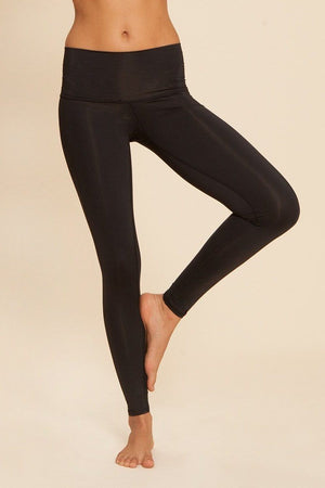 SEA YOGI // Black Teeki Moon Dance Hot Pant, front