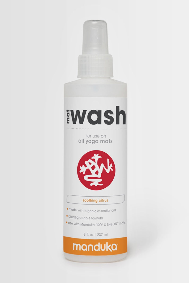 Manduka mat spray wash with Soothing Citrus essential oils - SEA YOGI