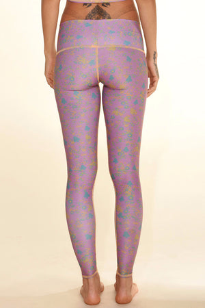 TEEKI MEADOW HOT PANT BACK IMAGE - Sea Yogi