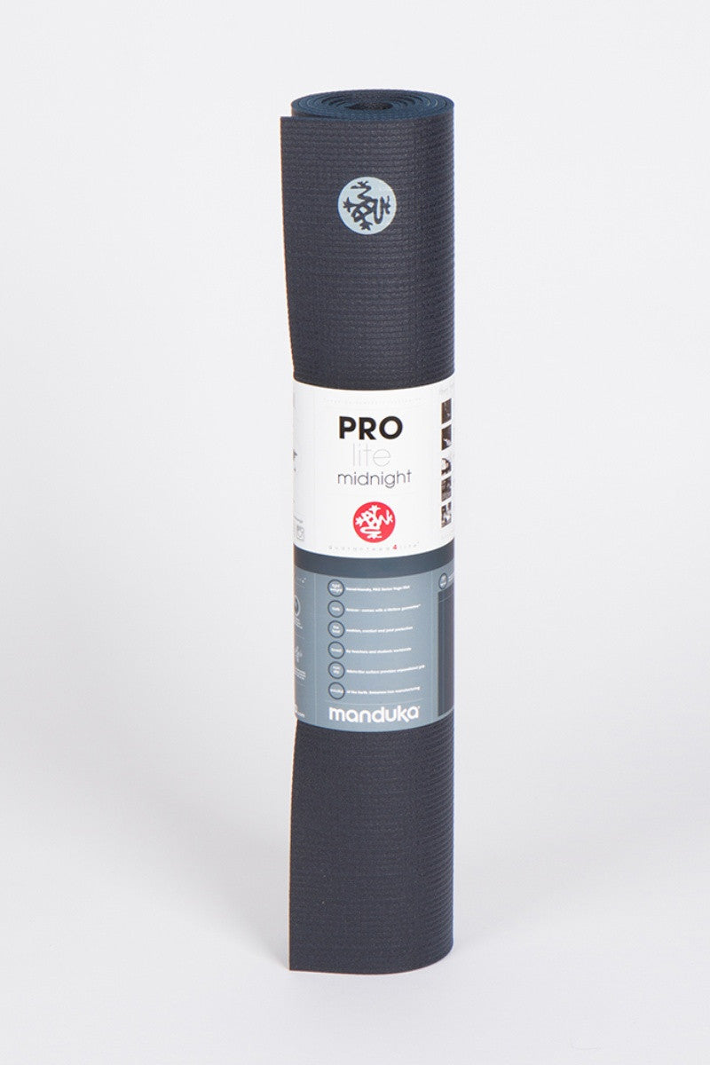 Manduka Prolite 5mm mat in midnight style, front image