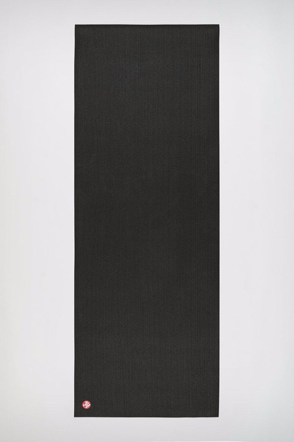 Manduka Pro Mat in Black colour and 5mm, rolled out image