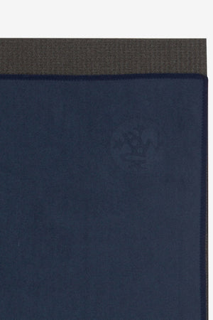 MANDUKA // eQUA HAND YOGA TOWEL - MIDNIGHT