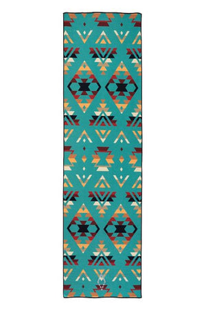Nomadix Double sides Yoga and Beach towel in Pwn High Alpine style, front image - Sea Yogi