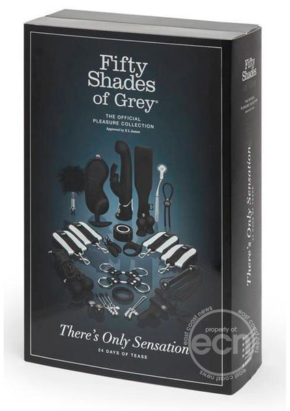 Fifty Shades Of Grey There's Only Sensation 24 Days Of Tease The Official Pleasure Collection