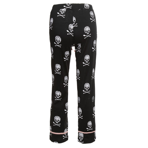 Chef Skull Wide Leg Pants
