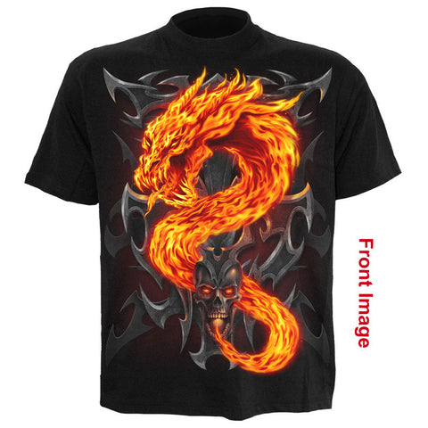 Dragon Fire Skull