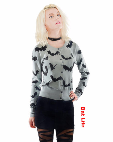 Bat Love Cardigan Collection
