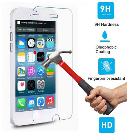 Premium Tempered Glass Screen Cover Guardian for Apple iPhone - 5c and 5s