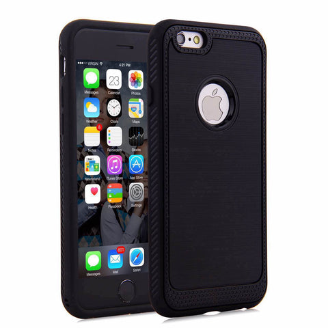 iPhone 7 Case Anti-Slip Slim Armour Shock Absorbing Flexible Back Cover TPU Case