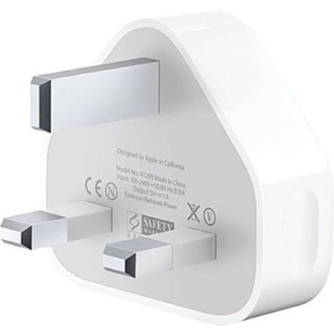 Official Apple A1399 3-Pin Mains Charger Plug (Non-Retail Packaging)
