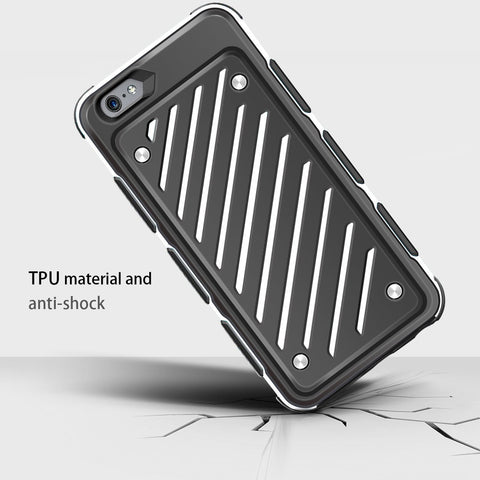 Ultra Thin iPhone Case Dual Layer Hybrid Slim Case with Shockproof Function for Apple iPhone 6/6s