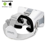 DEIM 3D Virtual Reality Headset Universal Virtual Reality - White