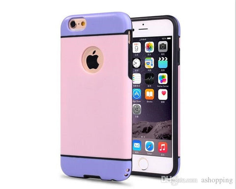 iPhone 7 (5.5) Hybrid Armor Drop & Shock Proof Bumper/Case Cover