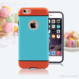 iPhone 6 (4.7) Hybrid Armor Drop & Shock Proof Bumper/Case Cover