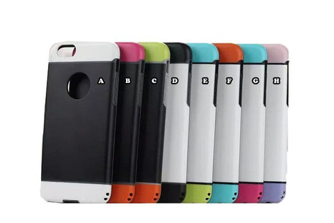 iPhone 5E/5S Hybrid Armor Drop & Shock Proof Bumper/Case Cover