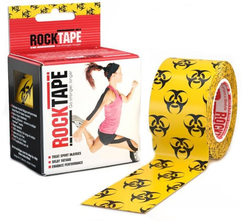 RockTape Kinesiology Tape | 5cm x 5m | Biohazard | WOD Gear UK | RXROX