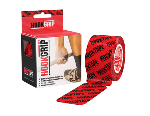 RockTape HookGrip Tape | Thumb Protection for Weightlifting