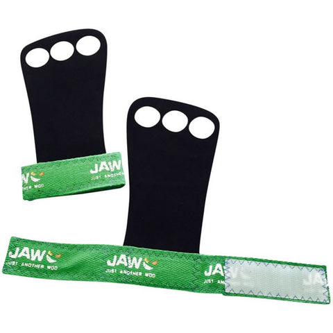 JAW Leather Pull-up Grips | Green | WOD Gear UK | RXROX