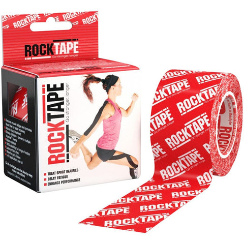 RockTape Kinesiology Tape | 5cm x 5m | Red Logo | WOD Gear UK | RXROX