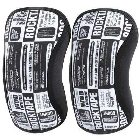 RockTape Assassins Line Knee Support 5mm | Manifesto (Pair) | WOD Gear UK | RXROX