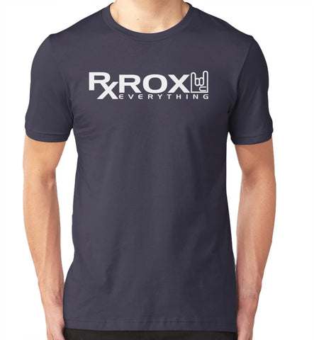 Men's WOD Proof Emblem T-Shirt | Navy | WOD Gear UK | RXROX