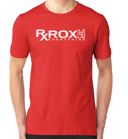 Men's WOD Proof Emblem T-Shirt | Red | WOD Gear UK | RXROX
