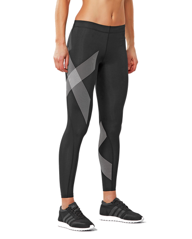 2XU Womens TR2 Compression Tights | Black | WOD Gear UK | RXROX