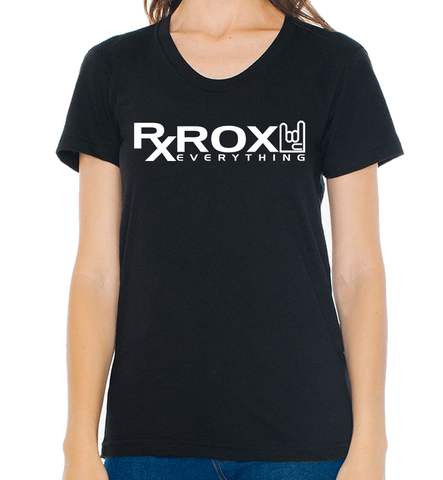 Women's WOD Proof Emblem T-Shirt | Black | WOD Gear UK | RXROX