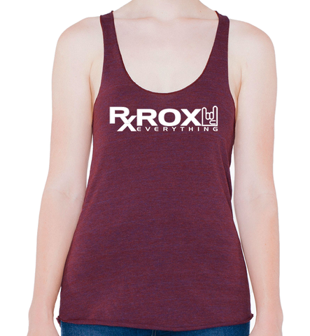 Women's WOD Proof Emblem Tank | Cranberry | WOD Gear UK | RXROX