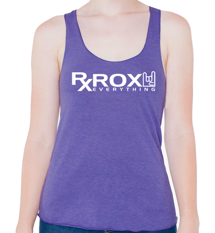 Women's WOD Proof Emblem Tank | Purple | WOD Gear UK | RXROX