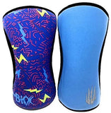 Bear KompleX Knee Supports  | Lightening & Blue Reversible (Pair)
