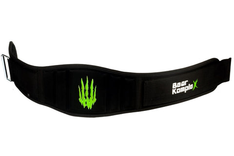 Bear KompleX Strength Belt | Black and Green | WOD Gear UK | RXROX