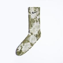 Inked Grails Tie Dyed Socks | Forest Green