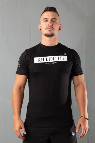 Nasty DT Tee | Killin' It | Black