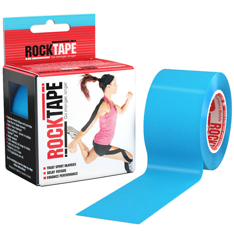 RockTape Kinesiology Tape | 5cm x 5m | Electric Blue | WOD Gear UK | RXROX