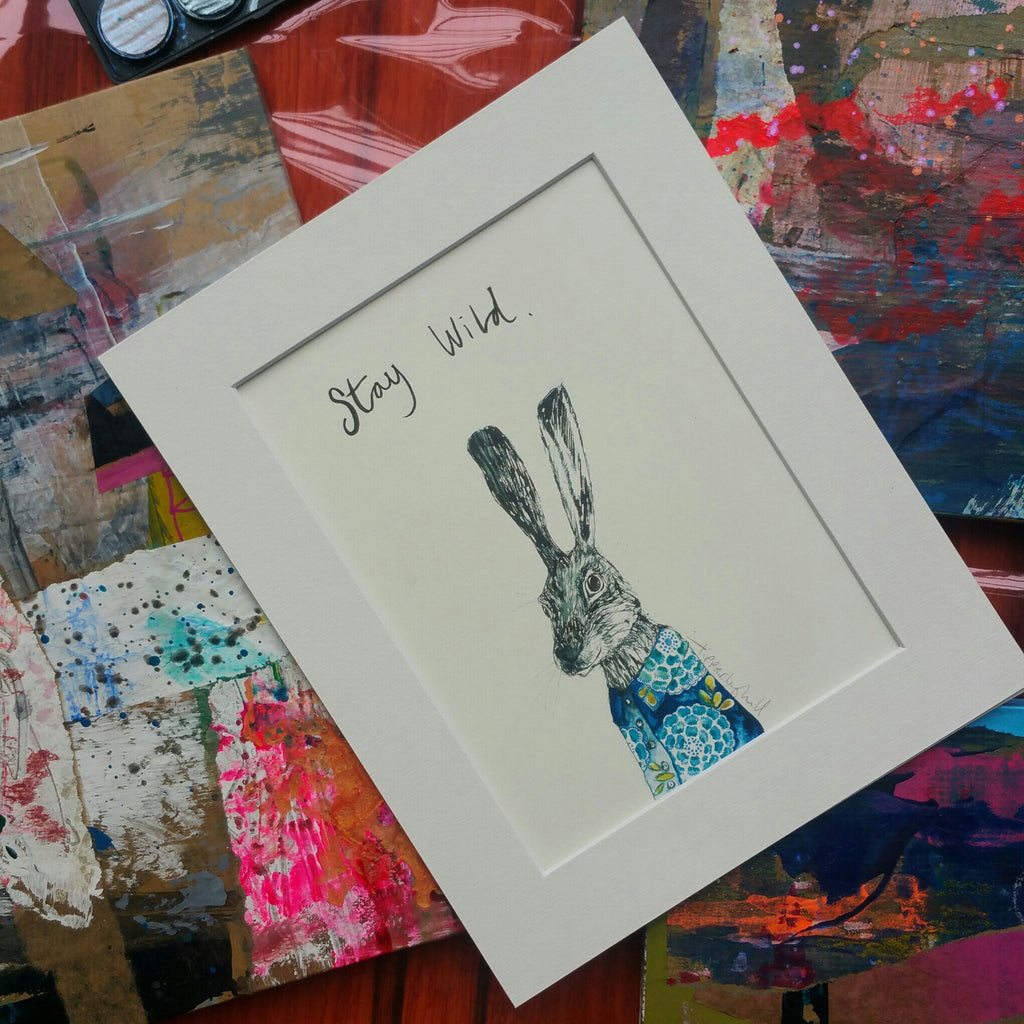 Animal art, Walter the hare