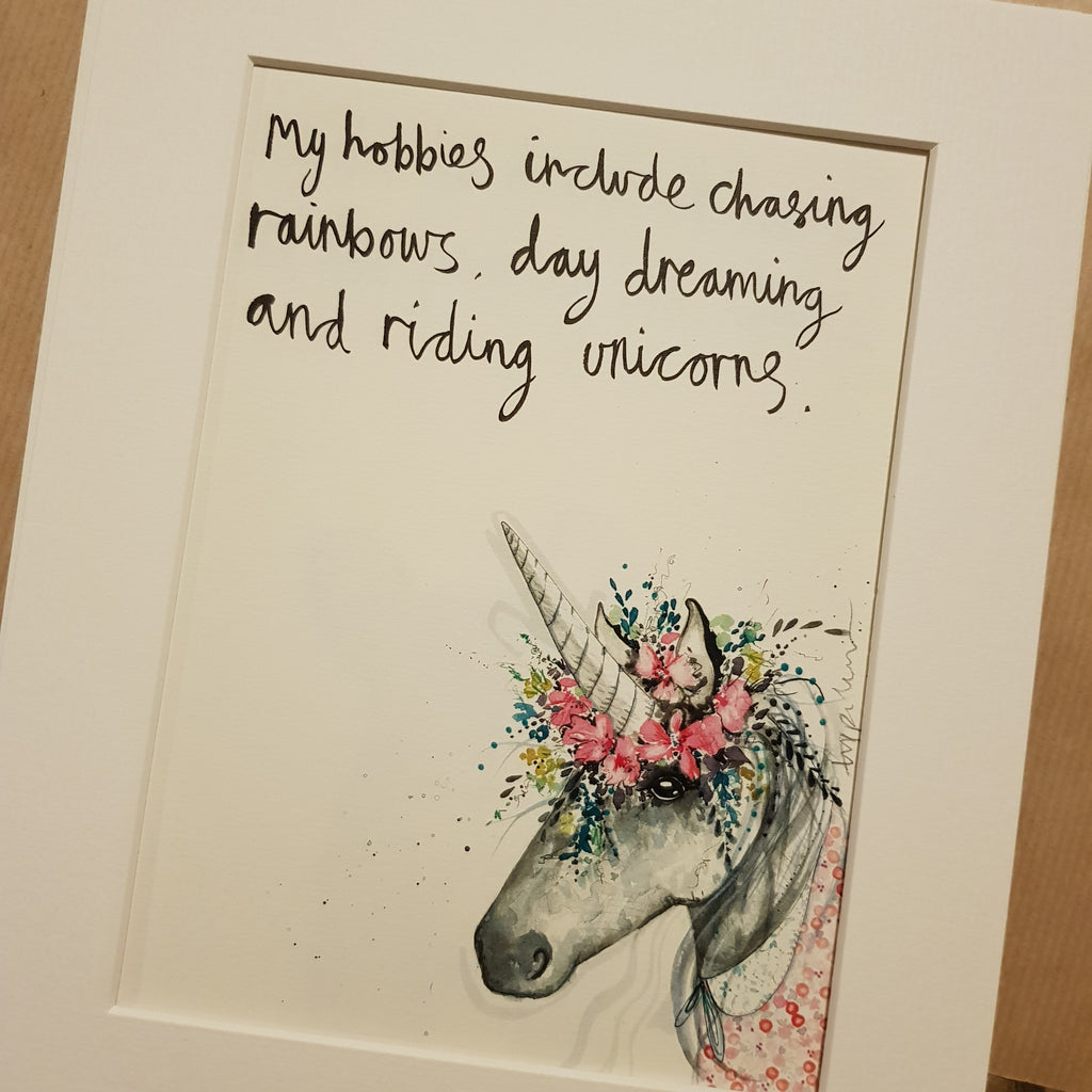 Animal art, Blossom the unicorn