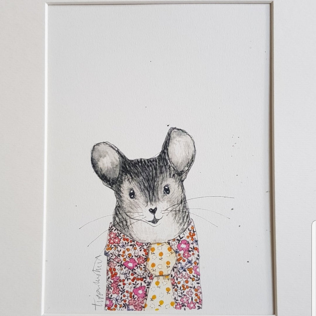 Animal art, Ray the Mouse