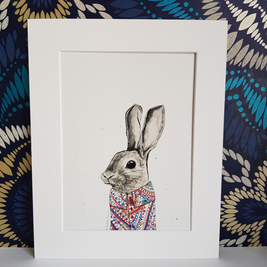 Animal Art, Francis the Bunny