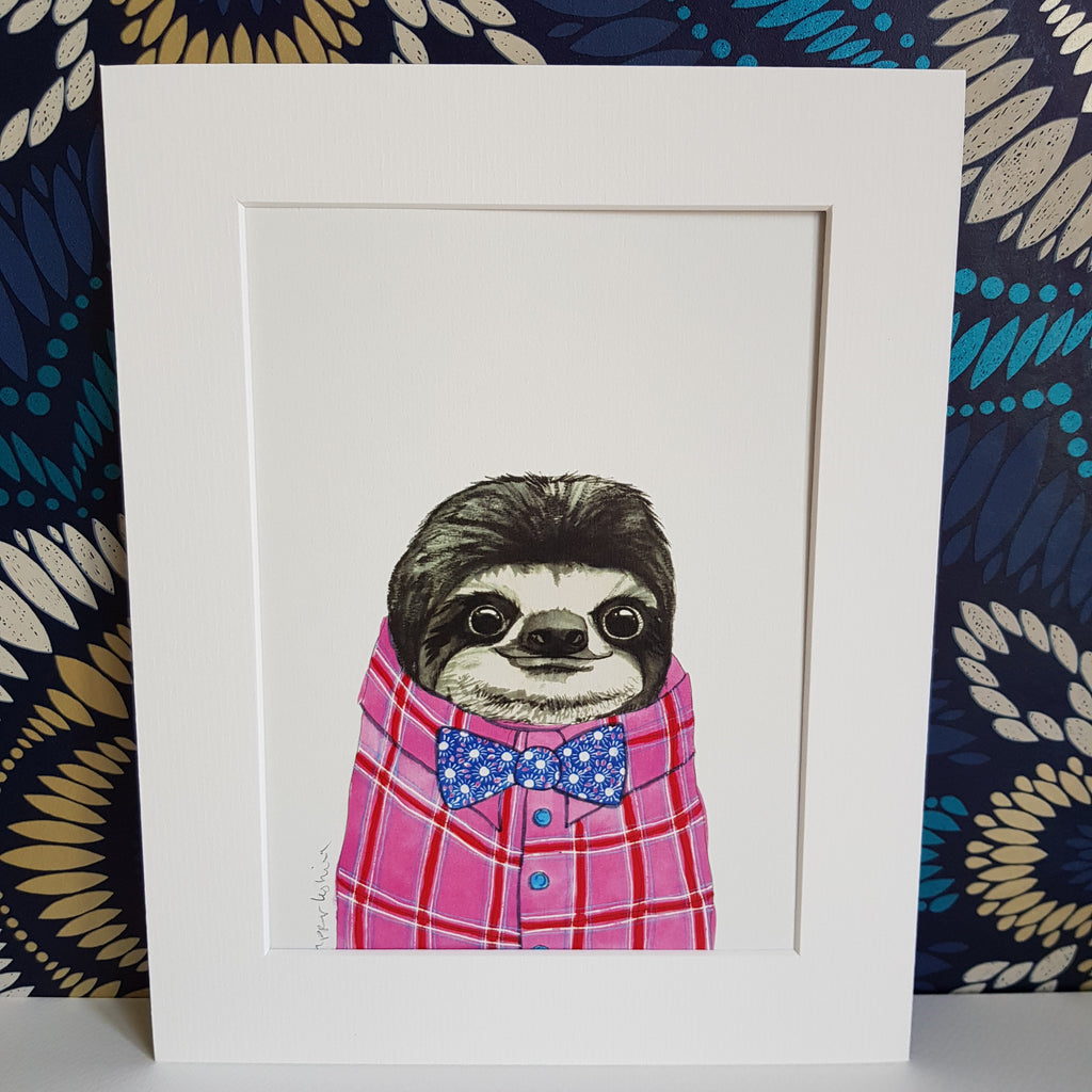 Animal Art, Kelvin the Sloth