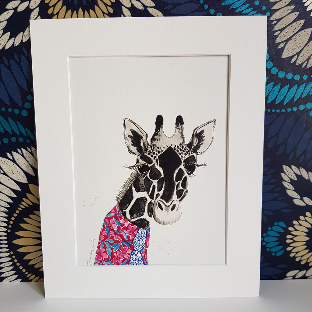 Animal Art, Gerald the Giraffe