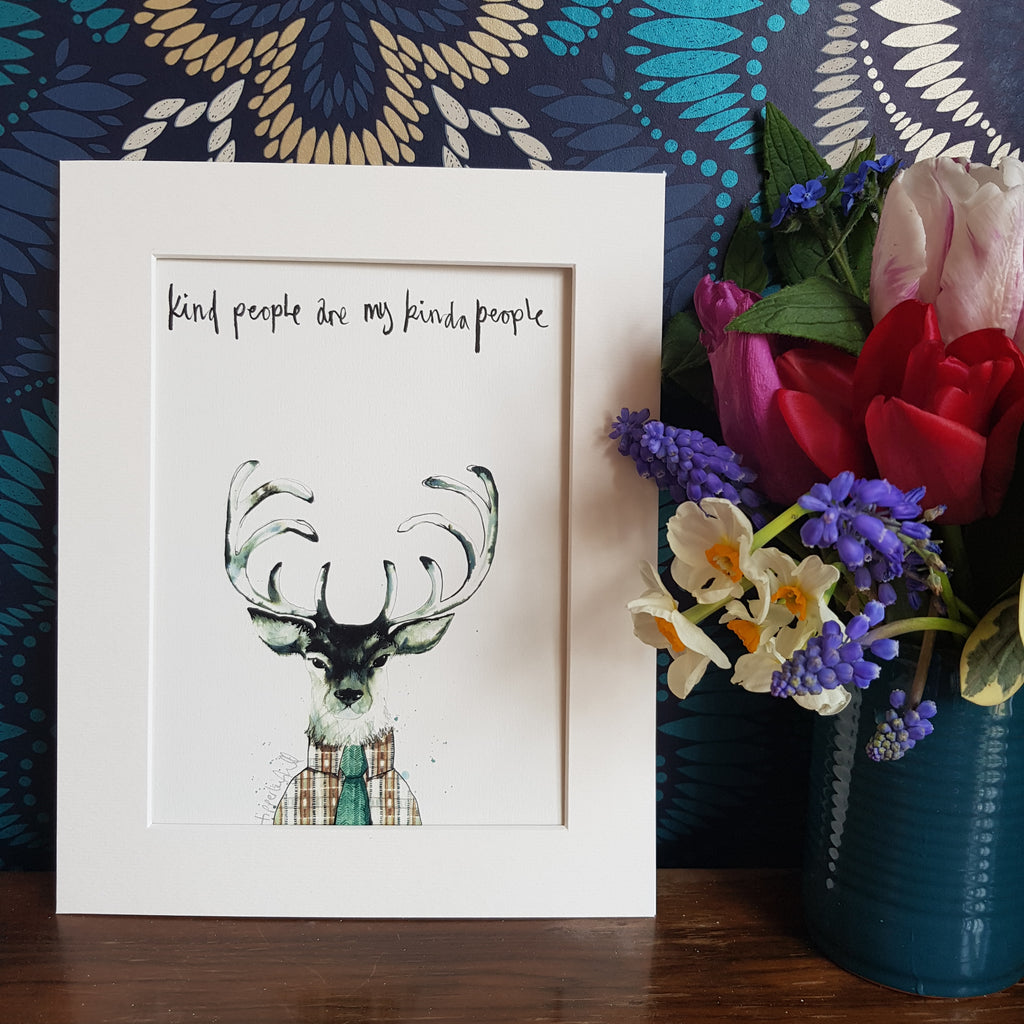 Animal art, Finn the stag