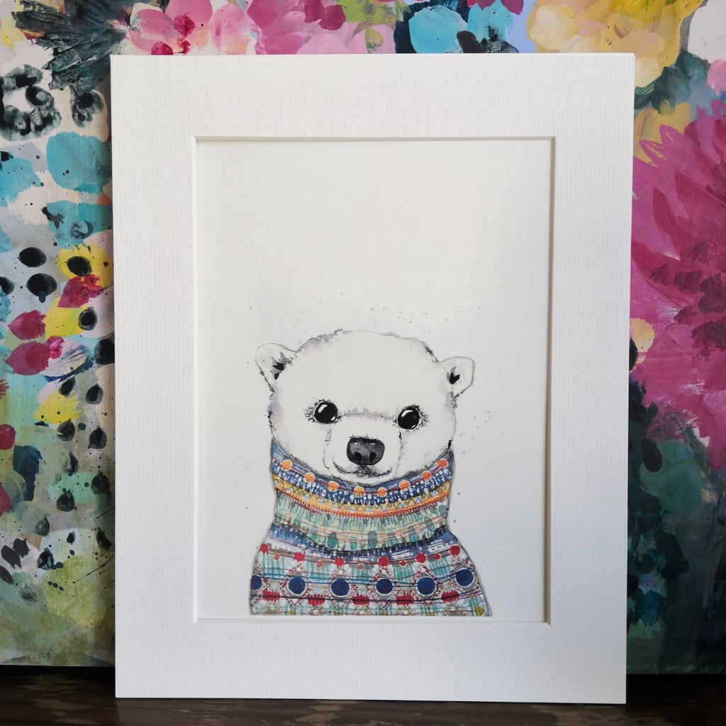 Animal art, Eve Polar Bear